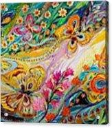 The Dance Of Butterflies Acrylic Print