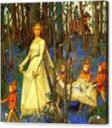 The Fairy Wood Henry Meynell Rheam Acrylic Print