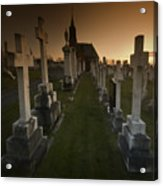 The Graveyard Acrylic Print