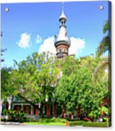 The Henry B. Plant Museum Tampa Fl Acrylic Print