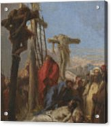 The Lamentation At The Foot Of The Cross   Acrylic Print