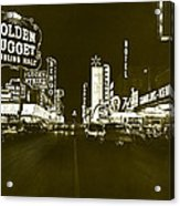 The Las Vegas Strip Acrylic Print