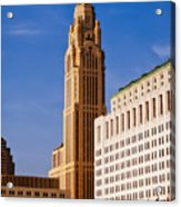 The Leveque Tower Of Columbus Ohio Acrylic Print