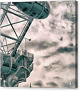 The London Eye Acrylic Print