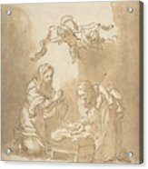 The Nativity Acrylic Print