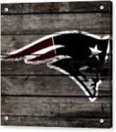The New England Patriots 3a Acrylic Print