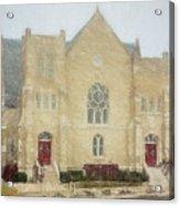 The Old Church Acrylic Print