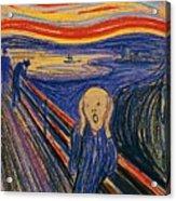 The Scream Ver 1895 Edvard Munch Acrylic Print