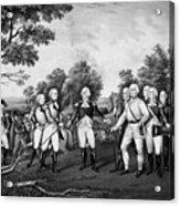 The Surrender Of General Burgoyne Acrylic Print