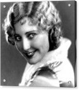 Thelma Todd, Portrait Ca. 1935 Acrylic Print