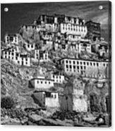 Thiksey Monastery Acrylic Print