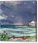 Thunderstorm Over Key West Acrylic Print