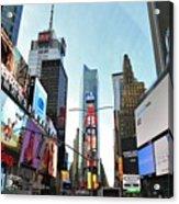 Times Square New York City Acrylic Print