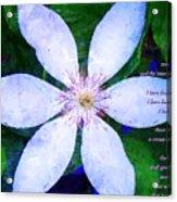 2 Timothy 4 6 8 Acrylic Print
