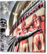 Tony Adams Statue Emirates Stadium Acrylic Print