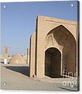 Towers Of Silence. Yazd, Iran Acrylic Print