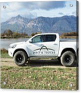 Toyota Hilux At37 Acrylic Print