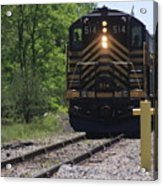 Trains Acrylic Print