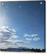 Travelling To Flagstaff Acrylic Print