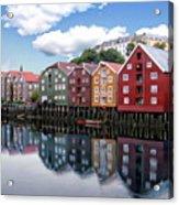 Trondheim Coastal View Acrylic Print