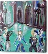 Tudor Fairies Acrylic Print