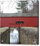 Uhlerstown Covered Bridge Acrylic Print