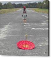 Umbrella Acrylic Print by Joana Kruse