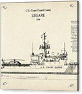 U.s. Coast Guard Cutter Legare Acrylic Print