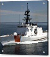 U.s. Coast Guard Cutter Waesche Acrylic Print