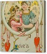 Valentine Design Six Acrylic Print