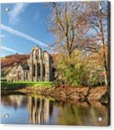 Valle Crucis Abbey  Acrylic Print