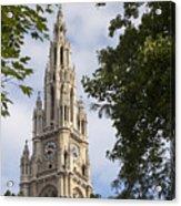 Vienna City Hall Acrylic Print