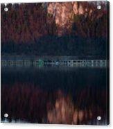 View Across Lake Bled Acrylic Print