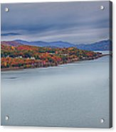 View From The Bear Mountain Bridge Acrylic Print