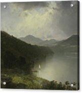 View On The Hudson Acrylic Print
