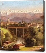 views of Bern and the Bernese Oberland Acrylic Print