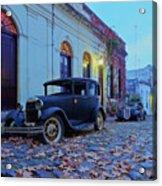 Vintage Cars In Colonia Del Sacramento, Uruguay Acrylic Print