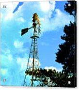 Vintage Windmill Acrylic Print