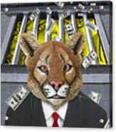 Wall Street Predator Acrylic Print