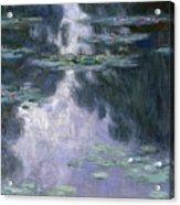 Water Lilies Nympheas Acrylic Print