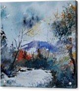Watercolor  802120 Acrylic Print