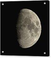 Waxing Gibbous Moon Acrylic Print
