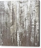 Weathered Metal Acrylic Print
