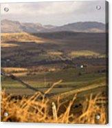 Welsh Mountains Acrylic Print