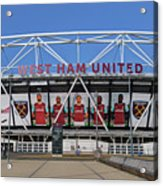 West Ham Fc Stadium London Acrylic Print