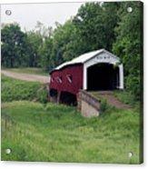 West Union Covered Bridge, Indiana Acrylic Print