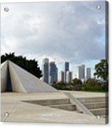 White City Statue, Tel Aviv, Israel Acrylic Print