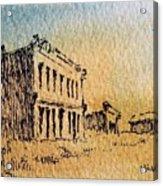 White Oaks Ghost Town New Mexico Acrylic Print