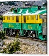 White Pass Mountains In British Columbia Acrylic Print