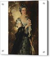 William Crowninshield Endicott Acrylic Print